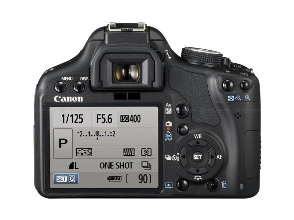 Canon EOS 500D Ecran