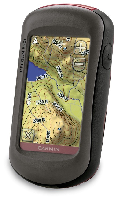 GPS Oregon 550t de Garmin