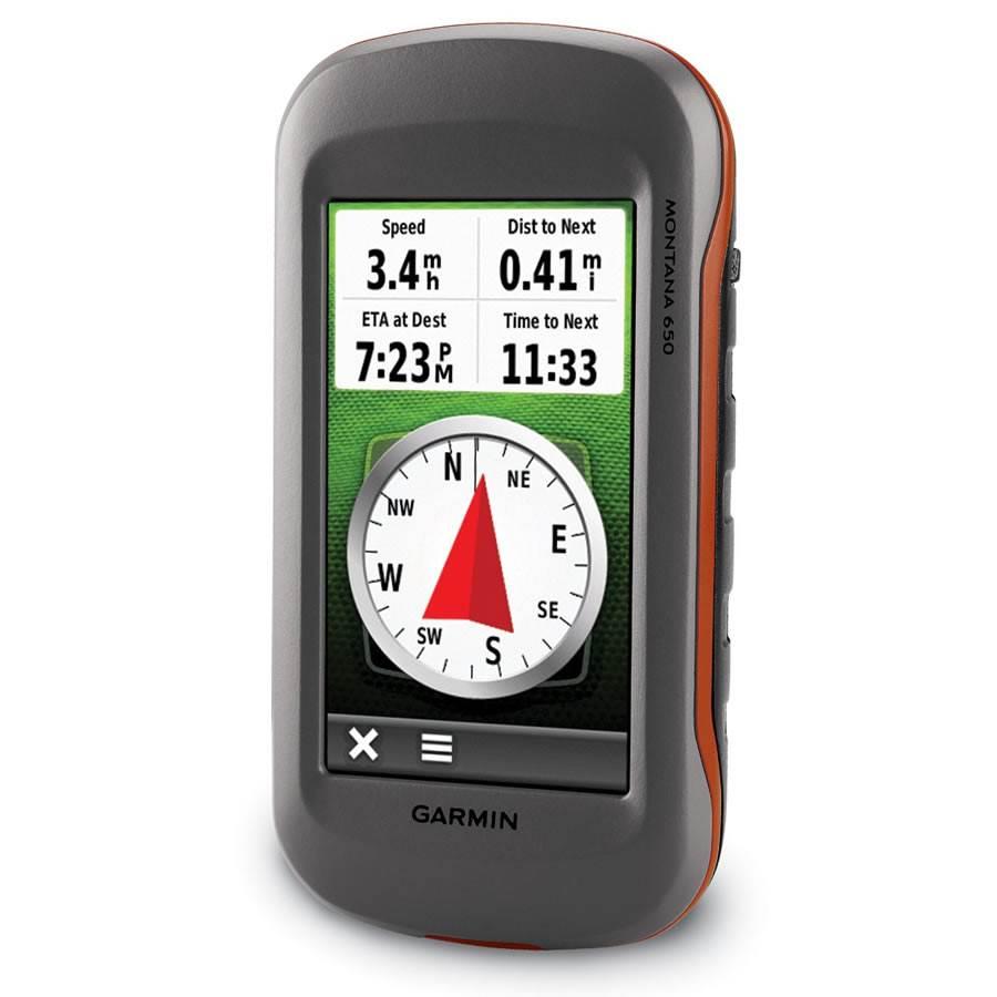 GPS Montana 650 de Garmin