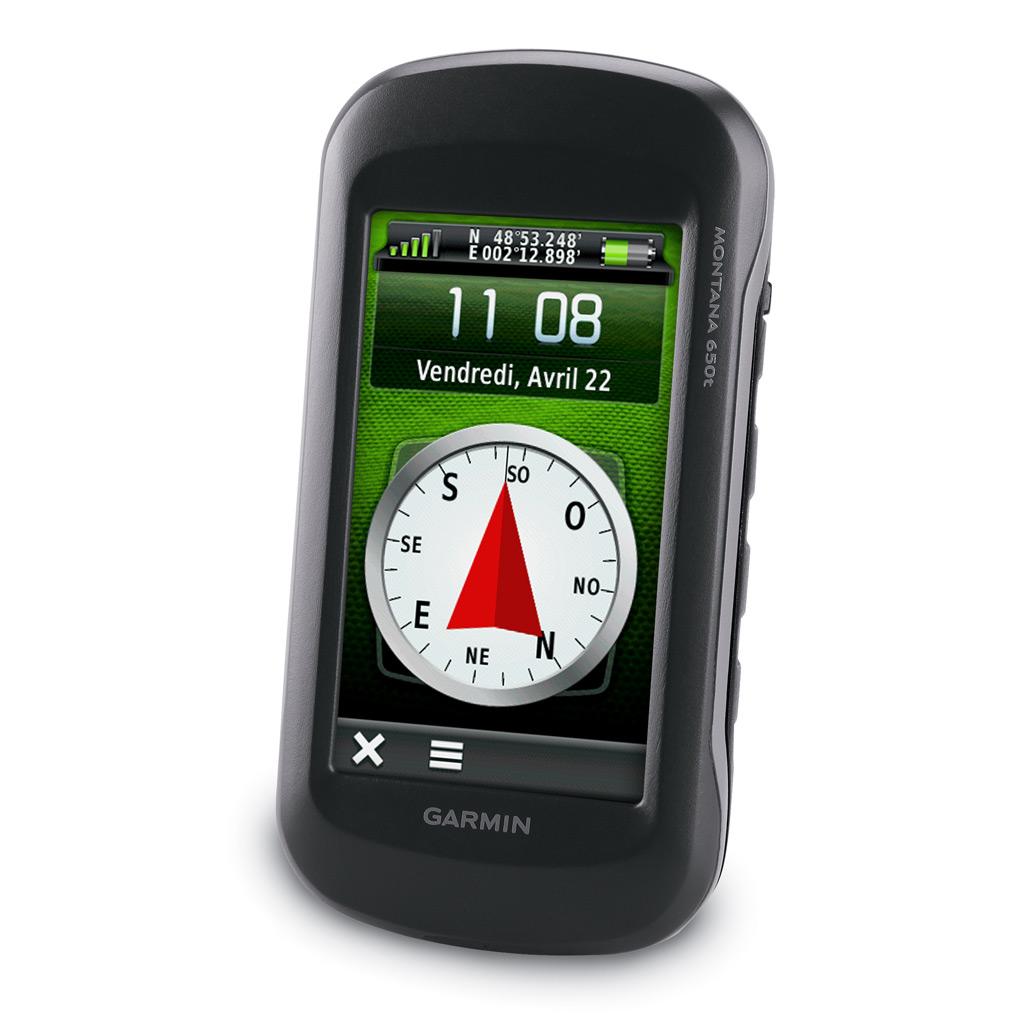 GPS Montana 650t de Garmin