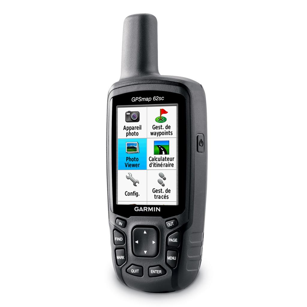 GPS GPSMAP 62sc de Garmin