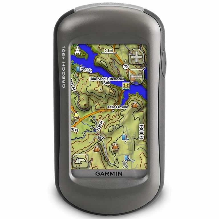 GPS Oregon 450t de Garmin