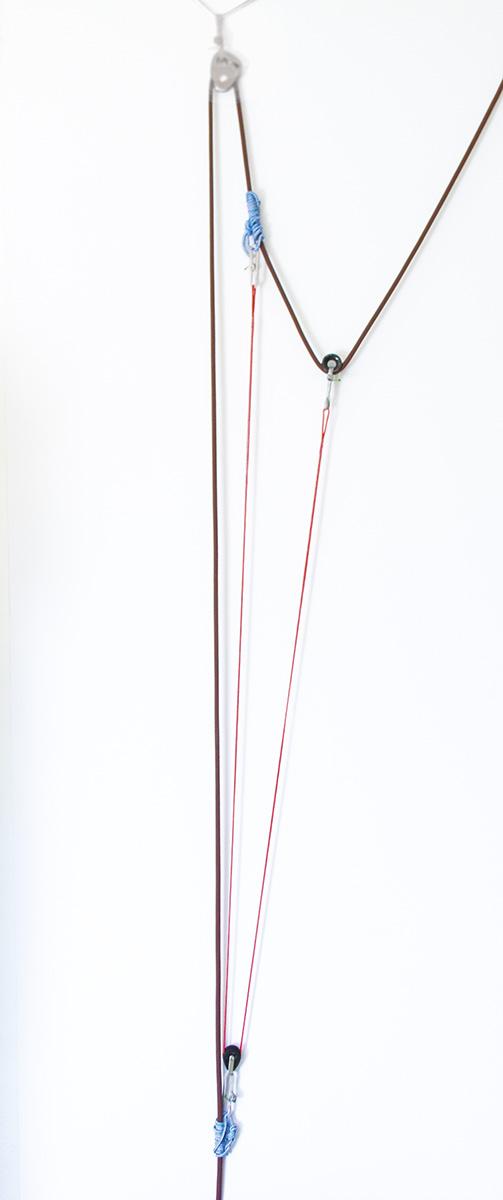 Mountain Essentials - Rescue systeme secours en crevasse - mariner double, mouflage simple, mouflage grenouille et passage des noeuds de freinage - syteme modulable en dyneema