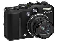 Canon G9 face