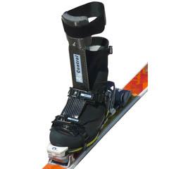 AlpControl Carbone/titane v2009 sur chaussure Crispi TopIce -  fixation Silvretta Pure - ski Dynastar Altitrail Vertical